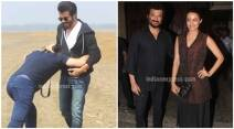 anil kapoor, 24, 24 shooting, anil kapoor 24 shooting, anil 24 shooting, anil kapoor on location 24 shoot, 24 shoot, anil kapoor pics, anil kapoor pictures, surveen chawla, anupam kher, abhinay deo, sikander kher, entertainment