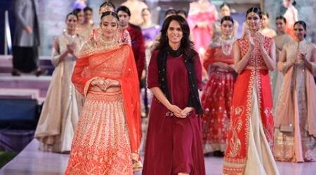 Anita Dongre's collection at Make in India Week is all about desiglam