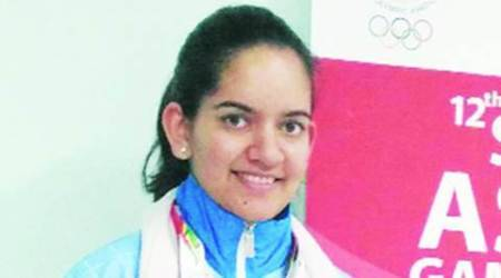 South Asian Games: Chandigarh shooter claims her first gold medal in senior category