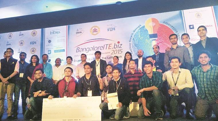 Appathon with their FIR app, pune students won, FIR app, Army Institute of Technology, theonecoders, pune news