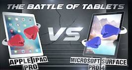 iPad Pro Vs Microsoft Surface Pro: Tech Editor Takes On Himself