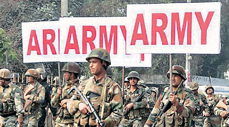 30 companies of the Army are out on the streets in Haryana towns, aiding the police and paramilitary forces.