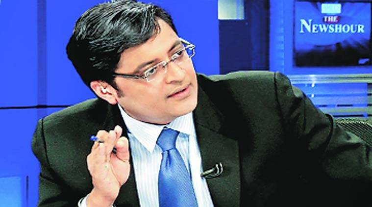 """'You are more dangerous to this country than Maoist terrorists,"" said Arnab Goswami."