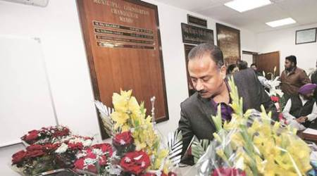 With pictures of all his predecessors, Arun Sood plans mayors' wall in his office