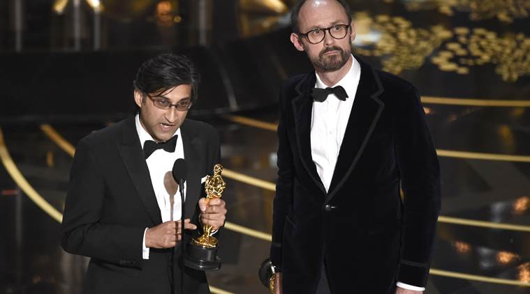 Oscar, Oscar 2016, Asif Kapadia, Asif Kapadia winner, best documentary Oscar Amy, best documentary Oscar, Asif Kapadia oscar, Asif Kapadia amy, entertainment news