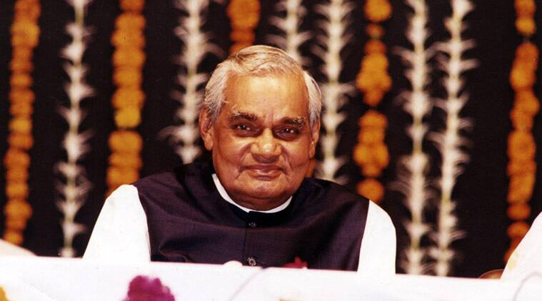 Former Prime Minister Atal Bihari Vajpayee is celebrating his 92nd birthday today. File photo