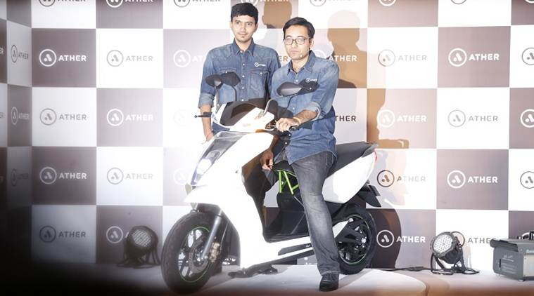 Ather Energy, a Bangalore-based hardware startup has launched S340, India's first smart electric scooter