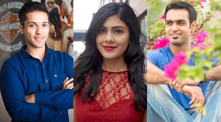 From L to R: Durjoy Datta, Nikita Singh and Ravinder Singh.