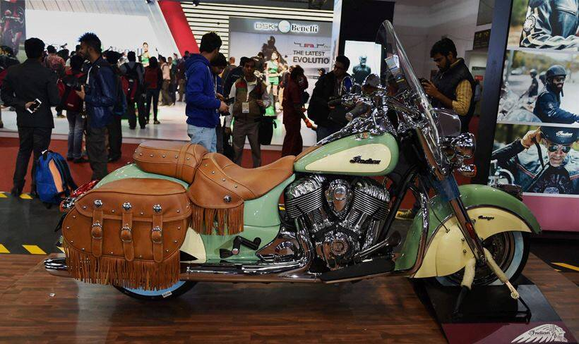 new car launches at auto expoPHOTOS Auto Expo 2016 Bikes The best glimpses  The Indian Express