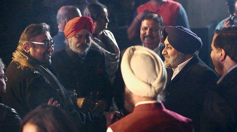 RajivK Luthra, Founder and Managing Partner, Luthra & Luthra Law Offices (extreme left) with Sukhbir Singh Badal