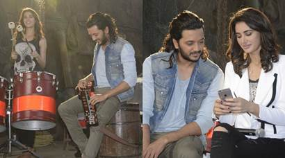 Riteish Deshmukh, Nargis Farkhri shoot for Banjo