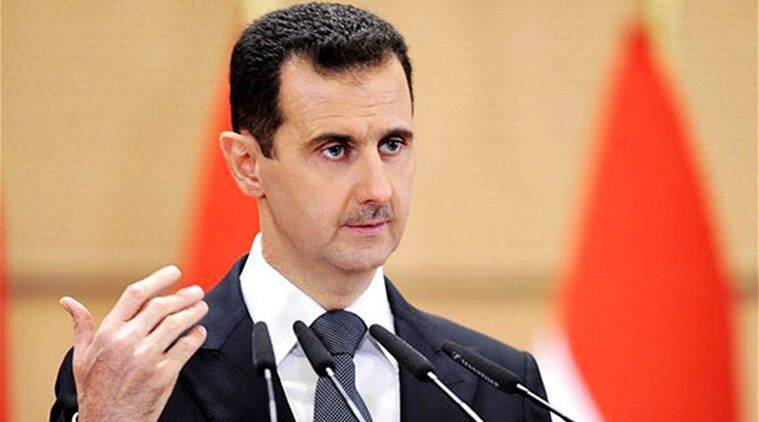 Syria attack, Syria chemical attack, Syria situation, EU on Syria chemical attack, EU slams Syrian President, EU slams Bashar al-Assad, Bashar al-Assad, world news, indian express news