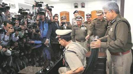 Alok Kumar takes charge: New police chief wants officers to focus on motor vehicle theft cases