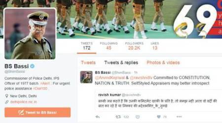 Delhi Police chief BS Bassi responds to parody Twitter account of Ravish Kumar, gets trolled