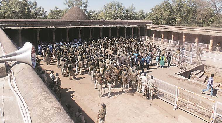 bhoshala case, bhoshala kamal maula mosque, bhoshala security, secrity in bhoshala, basant panchami, bhoj keshari dangal, india new