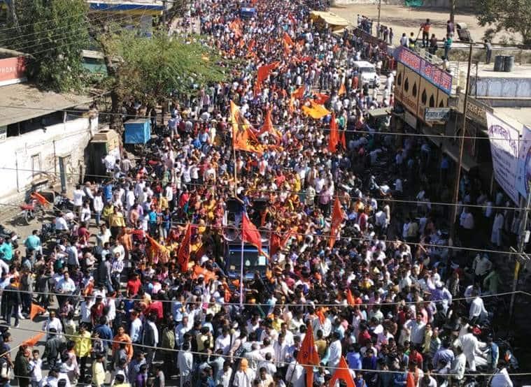 bhojshala crowd