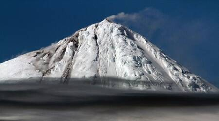 Watch: Rare eruption of isolated Antarctic volcano Big Ben shot by Australianscientists