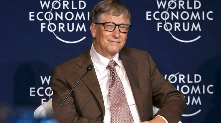 "Philanthropist and co-founder of Microsoft, Bill Gates attends a panel ""Preparing for the Next Pandemic"" at the World Economic Forum in Davos, Switzerland, Friday, Jan. 22, 2016. (AP Photo/Michel Euler)"
