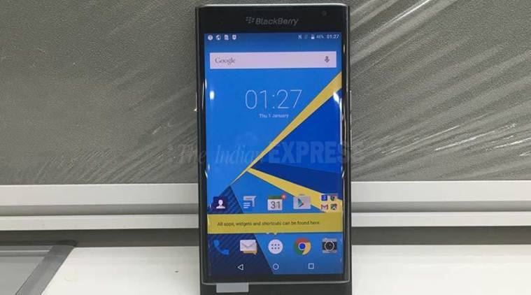 BlackBerry Priv is the first Android smartphone from the Canadian smartphone maker