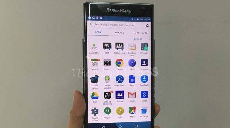 BlackBerry Priv runs near stock version of Android 5.1 Lollipop and is one of the most secure smartphones available right now