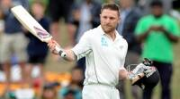 Brendon McCullum scores 25 in his last Test innings against Australia