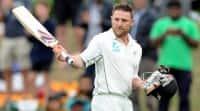 Brendon McCullum scores 25 in his last Test innings againstAustralia