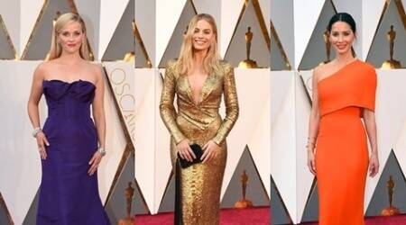 Oscars 2016 red carpet: Bright colours beat monochrome