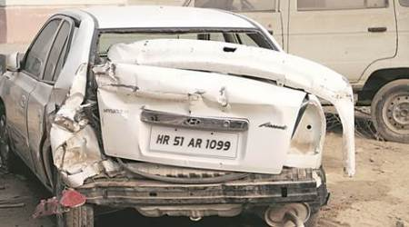 Noida shocker: Runaway car ploughs into school, kills a child, injures another