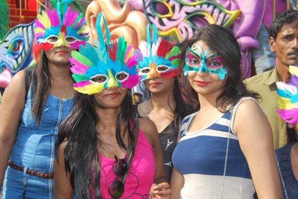 Goa Carnival 2016 celebrations begin with a colorful procession