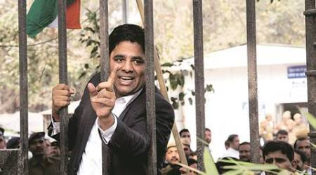 How lawyer Vikram Singh Chauhan who led both assaults at Patiala court sought support on Facebook to 'teach traitors alesson'