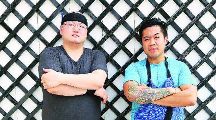 Chef Kelvin Cheung (right) has collaborated with Chef Boo, who moved from Chicago to Mumbai