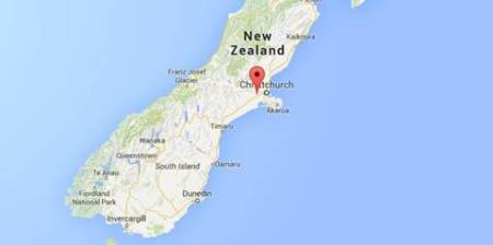 New Zealand's Christchurch rocked by 5.7 magnitude quake, cliffs collapse into sea