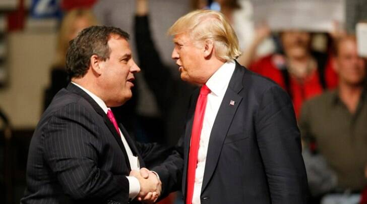 donald trump, chris christie, GOP, republican debate, GOP debate, christie trump, christie trump support, US elections, US elections 2016 , marco rubio, ted cruz