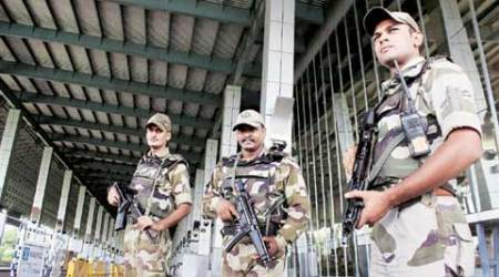 CISF contigent off to Haiti, UN Haiti mission, CISF Director General O P Singh, Indian security forces in UN mission, Central Industrial Security Force (CISF), indian express news