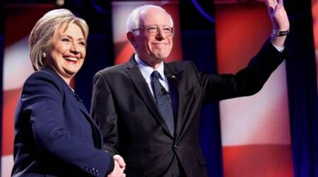 Bernie Sanders, Hillary Clinton spar in debate days before New York primary