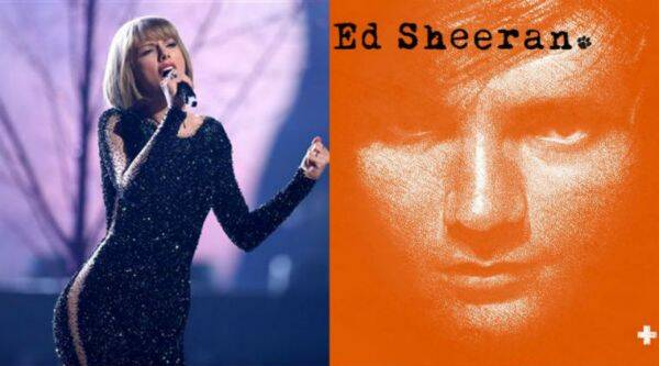 Taylor Swift bagged two Grammy awards and Ed Sheeran won for the best song