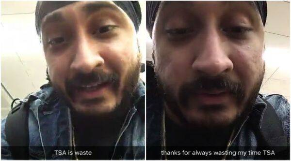 Jus Reign was asked to remove his turban at San Francisco airport