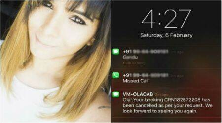 Bengaluru woman abused by Ola driver on SMS after she cancelled her cab