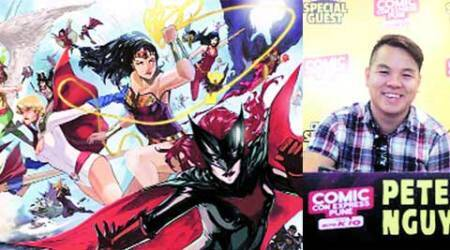 Pune comic con: As a fan, I'm highly critical of my own work, says Peter Nguyen