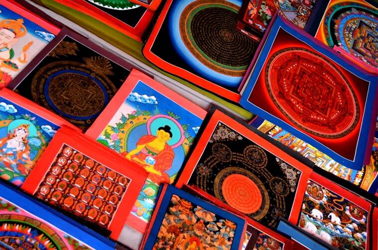Thangka Paintings from Himachal