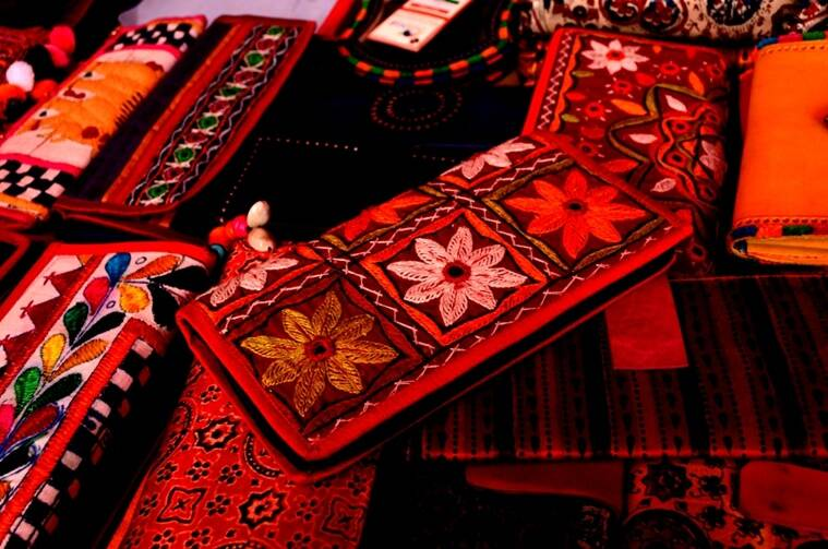 Hand bags from Kutch