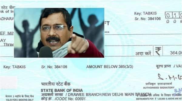 Visakhapatnam based businessman sent a DD of Rs 364 to Delhi CM Arvind Kejriwal asking him to buy shoes