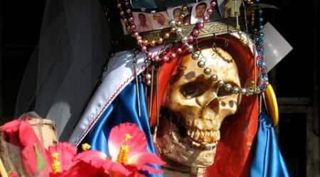 Saunas, aquarium and 'Death Saint' found in Mexico prison afterriot