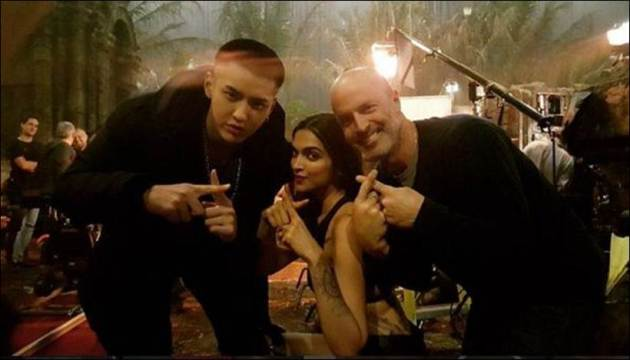 deepika padukone, vin diesel, deepika, deepika pics, deepika vin diesel pics, ruby rose, nina dobrev, dj caruso, tony jaa, vin diesel pics, deepika pics, xxx the return of xander cage, xxx cast, xxx: the return of xander cage cast, entertainment