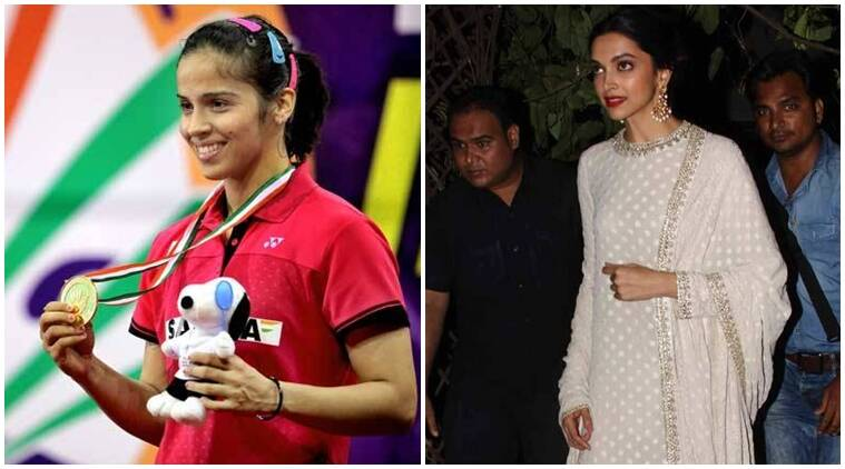 saina nehwal, deepika padukone, deepika, saina, deepika padukone saina nehwal, deepika saina, deepika padukone news, deepika padukone movies, deepika padukone upcoming movies, entertainment news