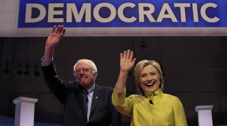 US, US elections, Democratic candidate Bernie Sanders, Defeat Donald trump, Donald Trump, Hillary Clinton, US presidential elections 2016, world news, latest news, Bernie sanders help Clinton win