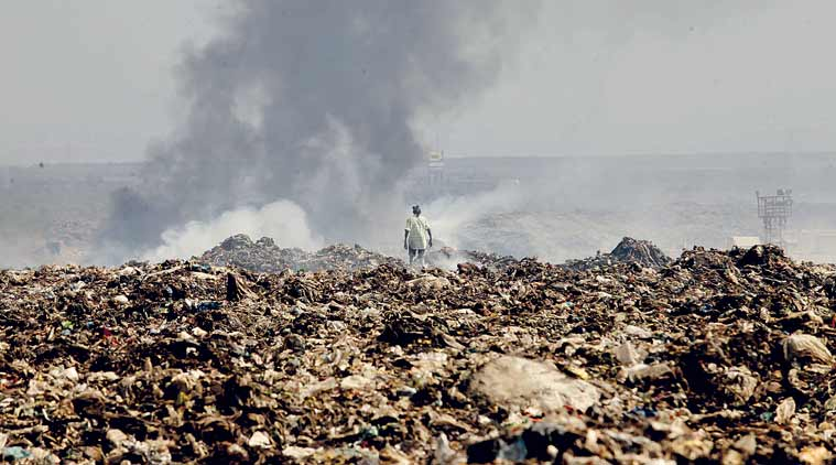 Highrise buildings in Mumbai, waste management, wet waste management, devendra fadnavis, Deonar dumping ground fire, BMC, mumbai news