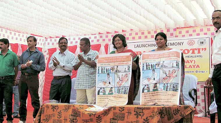 The awareness campaign being launched on Sunday. (Express Photo)