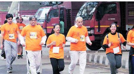 AIIMS, doctor health run, doctor run, AIIMS hostel campus, violence by patients kin, delhi news