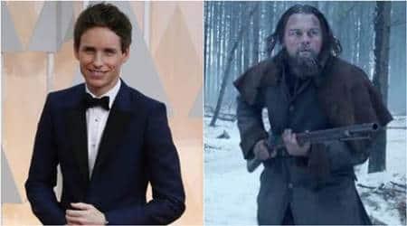 Leonardo Dicaprio should definitely win the best actor Oscar: EddieRedmayne